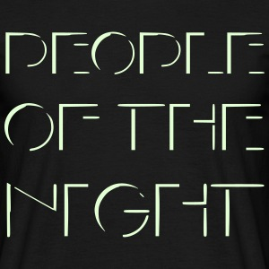 People of the Night T-Shirts - Men's T-Shirt
