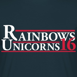 Rainbows Unicorns 16 T-Shirts - Men's T-Shirt
