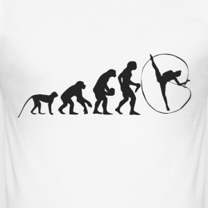 Evolution gymnastik T-shirts - Herre Slim Fit T-Shirt