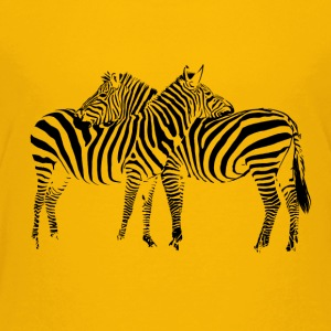 Zebra T-shirts - Teenager premium T-shirt