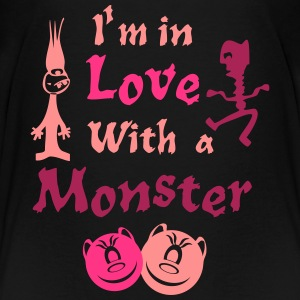 I'm in Love With a Monster doll-y-girl T-Shirts - Teenager Premium T-Shirt