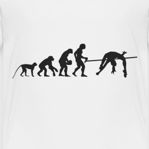 Evolution hvælving T-shirts - Børne premium T-shirt