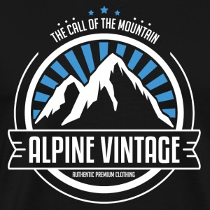 The call of the mountain - Der Berg ruft T-Shirts - Männer Premium T-Shirt