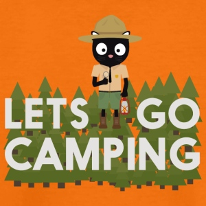 Camping kat in het Park Ranger uniform Shirts - Teenager Premium T-shirt