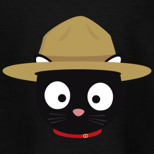 Cat Head Park Ranger Shirts - Kids' T-Shirt