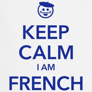 KEEP CALM I AM FRENCH Delantales - Delantal de cocina