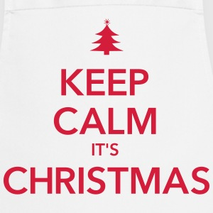 KEEP CALM IT'S CHRISTMAS  Aprons - Cooking Apron