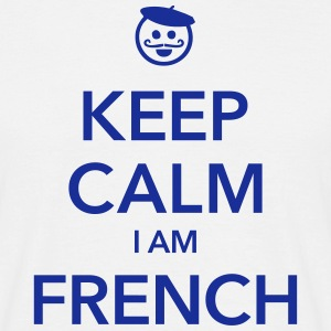 KEEP CALM I AM FRENCH Tee shirts - T-shirt Homme