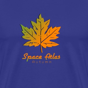 Space Atlas T-Shirt Autumn - Herre premium T-shirt