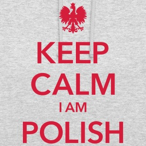 KEEP CALM I AM POLISH Sudaderas - Sudadera con capucha unisex