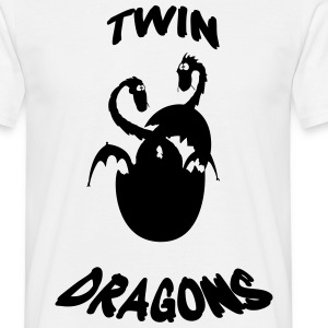 Dragons jumeaux Tee shirts - T-shirt Homme