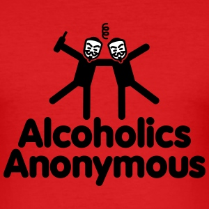 Alcoholics Anonymous T-shirts - slim fit T-shirt