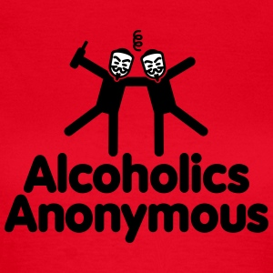 Alcoholics Anonymous T-shirts - Vrouwen T-shirt