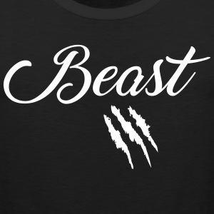 Beast and Beauty  Sports wear - Men's Premium Tank Top