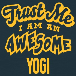 yogi trust me i am an awesome - T-shirt Homme