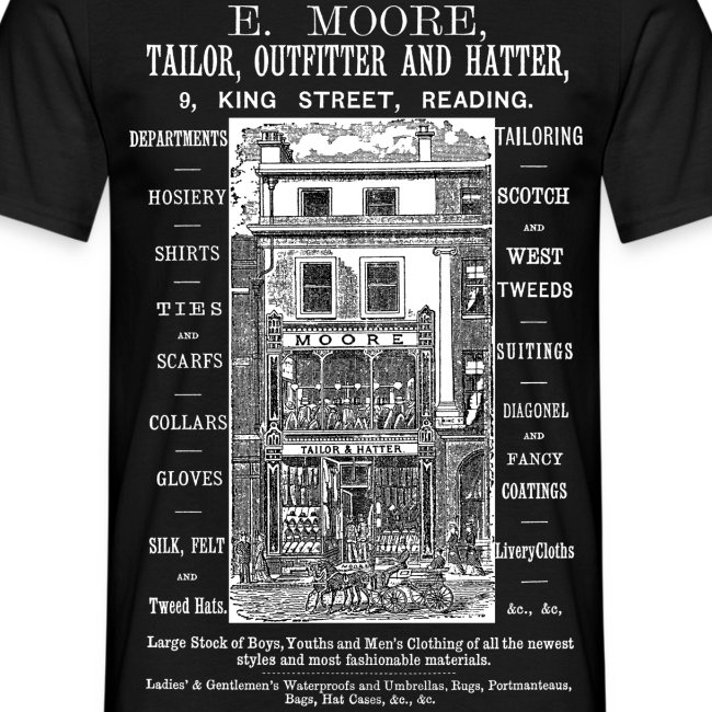 Moore's Outfitter, Reading (Front)