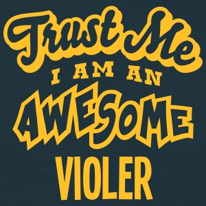 violer trust me i am an awesome - T-shirt Homme
