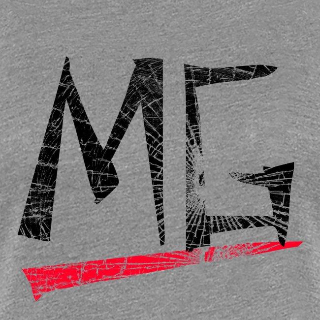 MG Glas black Logo Ladies Shirt