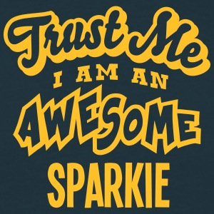 sparkie trust me i am an awesome - Men's T-Shirt