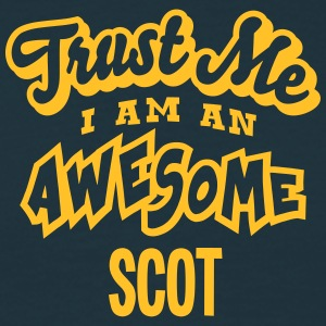 scot trust me i am an awesome - Men's T-Shirt