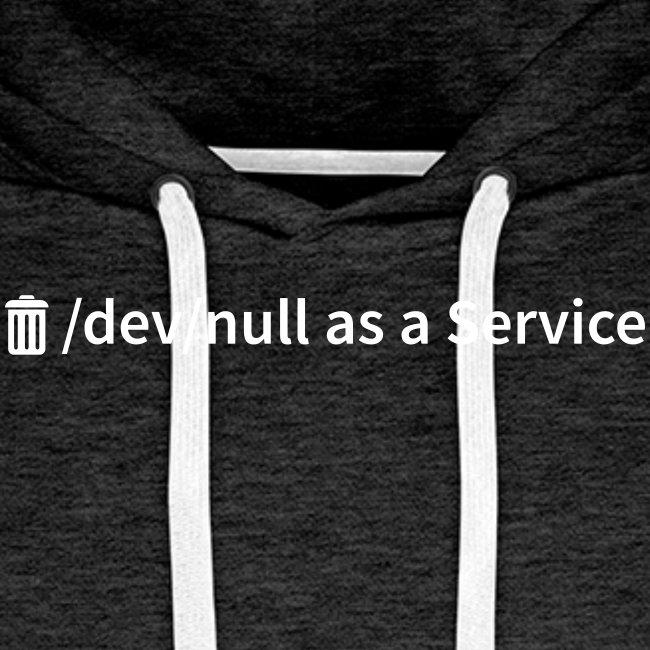 /dev/null as a Service - Männer Premium Kapuzenpullover