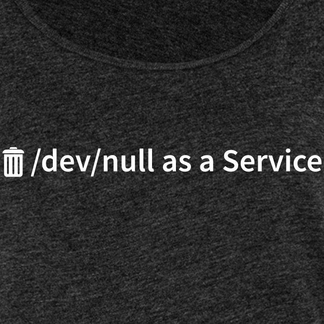 /dev/null as a Service - Frauen Premium Tank Top