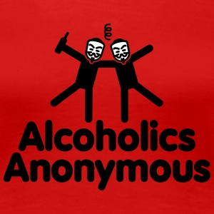 Alcoholics Anonymous AA T-Shirts - Women's Premium T-Shirt