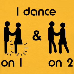 I dance Salsa on1 & on2, T-Shirt - Männer T-Shirt