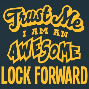 lock forward trust me i am an awesome - Men's T-Shirt