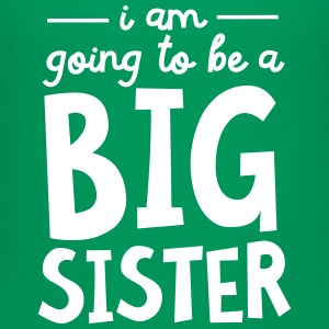 I Am going To Be A Big Sister Shirts - Teenage Premium T-Shirt