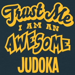 judoka trust me i am an awesome - T-shirt Homme