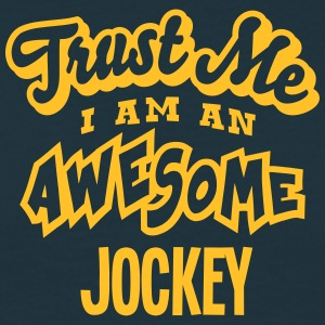 jockey trust me i am an awesome - Men's T-Shirt