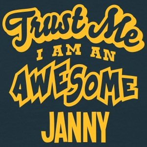 janny trust me i am an awesome - Men's T-Shirt