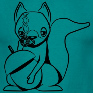 Squirrel kiffen joint Tee shirts - T-shirt Homme