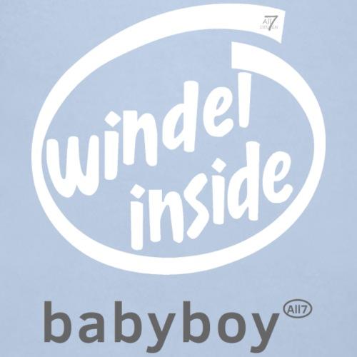 Windel inside boy weiß