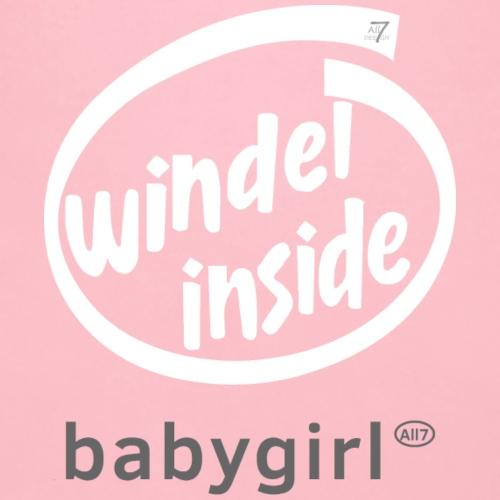 Windel inside girl weiß