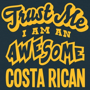 costa rican trust me i am an awesome - T-shirt Homme