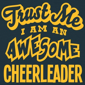 cheerleader trust me i am an awesome - T-shirt Homme