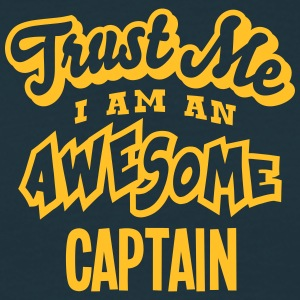 captain trust me i am an awesome - Men's T-Shirt