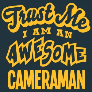 cameraman trust me i am an awesome - T-shirt Homme