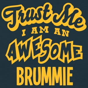 brummie trust me i am an awesome - Men's T-Shirt