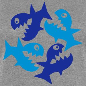 """Shirts mit Tier-Motiv """"Kreislauf des Lebens - Fische"""""""