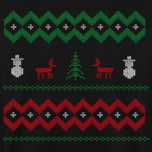 xmas snowman colored Pullover & Hoodies - Männer Pullover