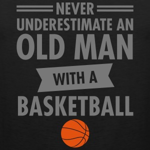 Old Man - Basketball Sports wear - Men's Premium Tank Top