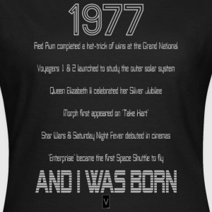 1977 40th birthday - Women's T-Shirt