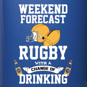 Rugby With A Chance Of Drinking Mugs & Drinkware - Full Colour Mug