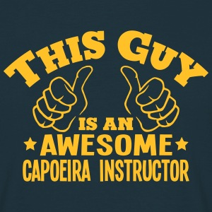 this guy is an awesome capoeira instruct - T-shirt Homme