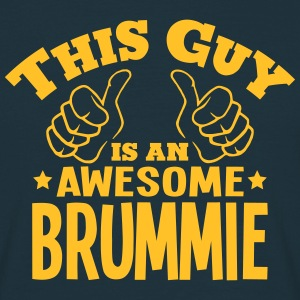 this guy is an awesome brummie - Men's T-Shirt