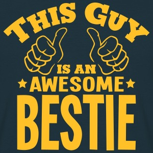 this guy is an awesome bestie - Men's T-Shirt