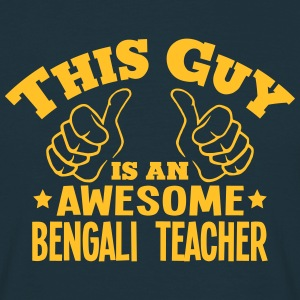 this guy is an awesome bengali teacher - Men's T-Shirt